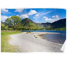 Lovers at Buttermere Poster