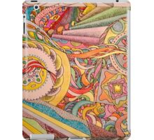 abstract path to enlightenment iPad Case/Skin
