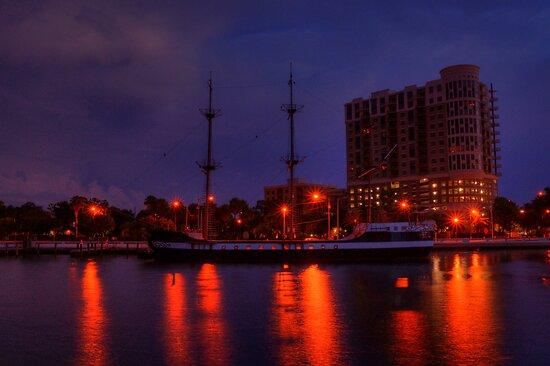 Gasparilla Boat by Kim McClain Gregal
