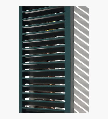 Window shutters, Den Haag Photographic Print