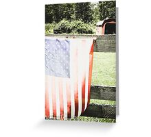 Stars & Stripes Greeting Card