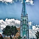 The Tower Steeple by Phillip M. Burrow
