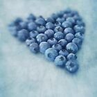 I love blueberries by Priska Wettstein
