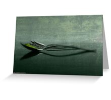 ABSTRACT SPICE Greeting Card