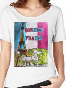 Bonjour France Women's Relaxed Fit T-Shirt