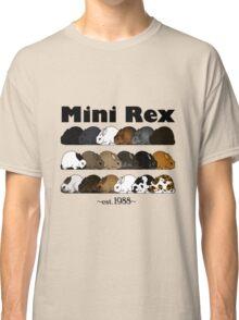 Mini Rex Varieties Classic T-Shirt