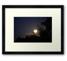 The theif left it Framed Print