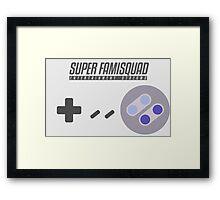 Super Famisquad - US Controller Framed Print