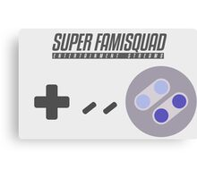 Super Famisquad - US Controller Canvas Print