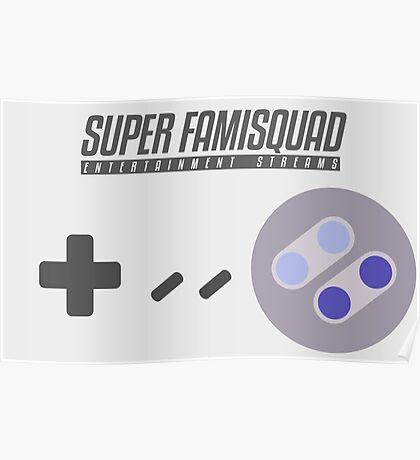 Super Famisquad - US Controller Poster