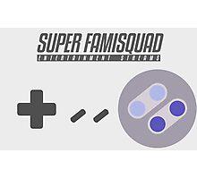 Super Famisquad - US Controller Photographic Print