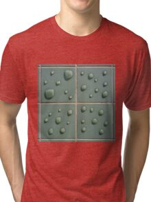 Droplets on the tiles (T-Shirt & iPhone case) Tri-blend T-Shirt