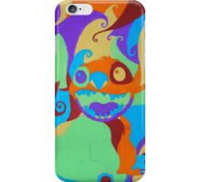 Psychedelic Stitch, Man iPhone Case/Skin
