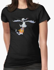 Reshiram Attack Womens Fitted T-Shirt