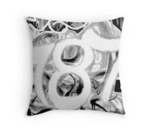 Graffiti 787 Throw Pillow