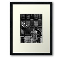 Plaza Mayor - Madrid Framed Print