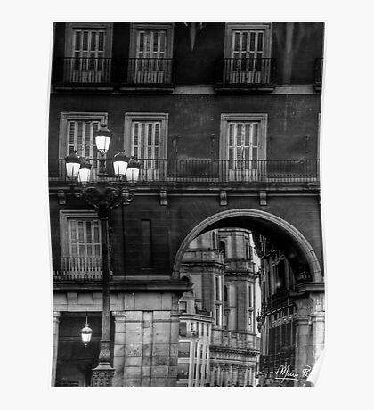 Plaza Mayor - Madrid Poster