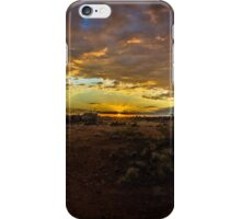 Outback Sundown iPhone Case/Skin