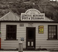 Post Office - Cardrona, New Zealand by Justine Chesterman