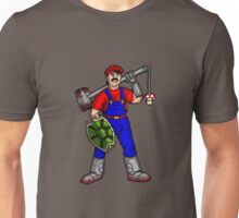 Angry Plumber Unisex T-Shirt