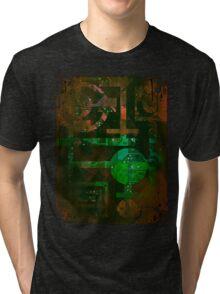 Midnight In Vector 5  Tri-blend T-Shirt