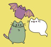Kawaii Cat Monsters Baby Tee