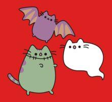 Kawaii Cat Monsters One Piece - Short Sleeve