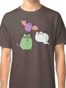 Kawaii Cat Monsters Classic T-Shirt