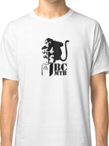 Bass Coast MTB Monkey bomber Classic T-Shirt