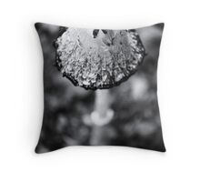 Mushroom in the Forest Throw Pillow