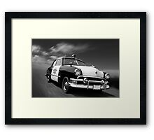 Kansas Law Dog Framed Print