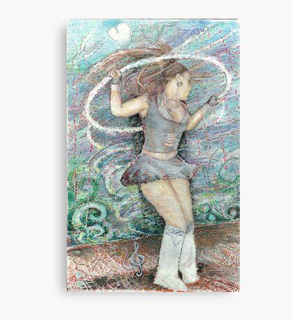 faux digital Canvas Print