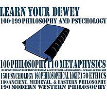 Learn your Dewey 100 Photographic Print
