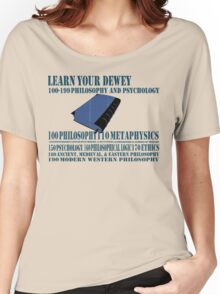 Learn your Dewey 100 Women's Relaxed Fit T-Shirt