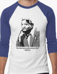 Redd Foxx Men's Baseball ¾ T-Shirt