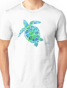 Sea Turtle no splots by Jan Marvin Unisex T-Shirt