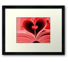burning for love Framed Print