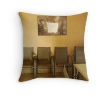 Viewing Room Throw Pillow