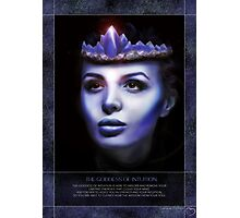 Goddess of Intuition Photographic Print
