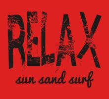 Relax Sun Sand Surf Kids Clothes