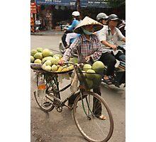 market produce   Hanoi Vietnam Photographic Print