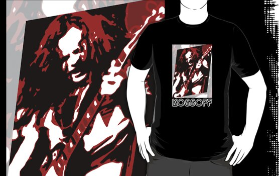 Paul Kossoff Pop Art by PheromoneFiend