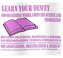 Learn your Dewey 000 Poster