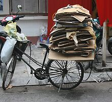 Cardboard   Hanoi, Vietnam by Richard Keating