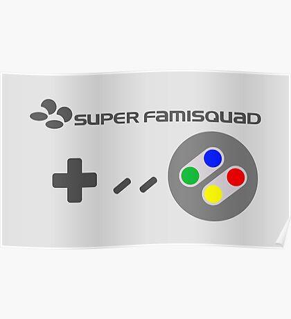 Super Famisquad - JP Controller Poster