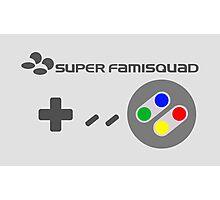 Super Famisquad - JP Controller Photographic Print