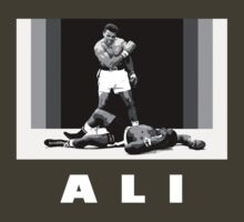 Muhammad Ali vs Sonny Liston Pop Art by PheromoneFiend