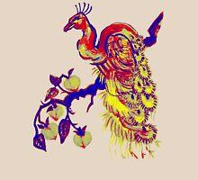 Peacock in a Peach Tree (Remix) T-Shirt
