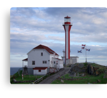 Cape Fourchu Lighthouse Canvas Print