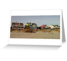 Litchfield Beach Cottages, SC  Greeting Card